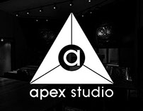 Apex Studio Logo Design
