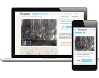 Craigslist responsive design