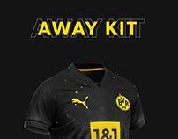 Borussia Dortmund football kit 21/22.