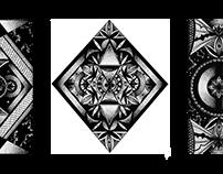 B&W pattern - Dot work