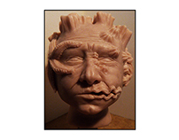 Super sculpey - Sea Man 2014