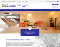 DAP Conference Center Website Design