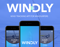 WINDLY WIND TRACKING APP