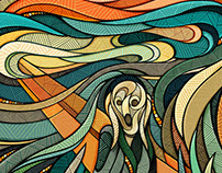 Adobe x The Munch Museum Oslo // The Scream
