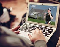 HANDYMAN SERVICES mobile app landing page design