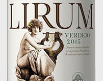 Lirum Verdejo - Wine Label Design