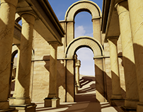 Environment Model: Ancient Desert Ruins