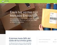 LANDING PAGE - Mercado Envíos MX