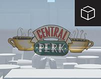 Modelado 3D - Central Perk (FRIENDS)