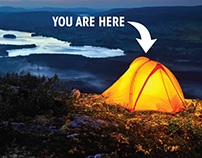 Summit Hut Spec Ad