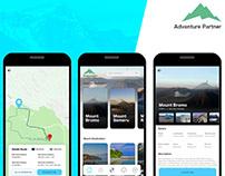 Alpha - Adventure Travel App