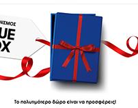 SAMSUNG / Blue Box Microsite