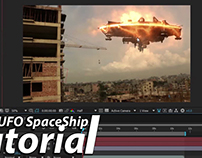 After Effects Tutorial | UFO SpaceShip