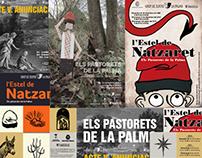 Cartells per a Els Pastorets de la Palma de Cervelló