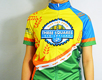 'Three Squares England'   Bike Jersey Contest