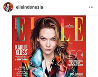 ELLE INDONESIA MAGAZINE July Issue