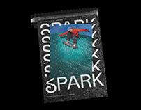 SPARK Skateboard Magazine Vol.2 - Editorial Design