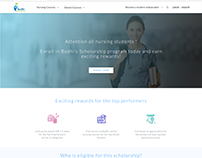 Bodhi Health- User Interface-Website design.