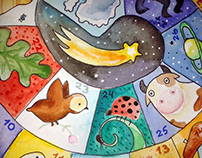 Illustrations for books