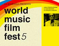 WMFF - World Music Film Fest /5 - poster