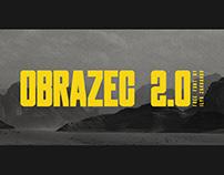 OBRAZEC 2.0 FREE FONT Latin and Cyrillic
