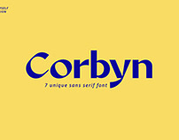 Corbyn Font