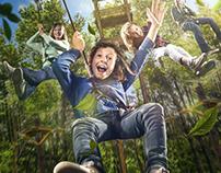 Chessington World of Adventures | 'Go Ape' Key Visual