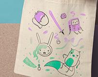 Angry Girls Club Fan Art Tote Bags