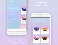 Ecommerce App Design - UI/UX