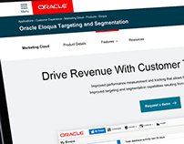 Oracle Product Page