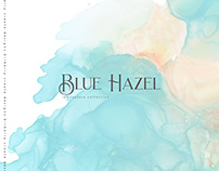 Blue Hazel ink
