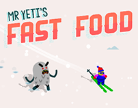 Mr. Yeti's Fast Food // Ludum Dare #33