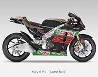 "Honda RCV213 V-S ""Castrol Black"" Livery"