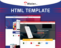 Dialer - VoIP Mobile Calling Apps HTML Templates