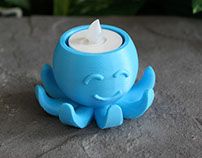 Octopus Tea Light