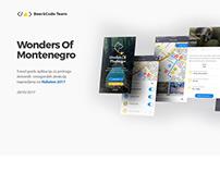 Travel guide app, Wonders Of Montenegro