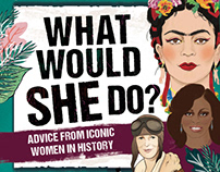 What Would She Do, Gift Set - Carlton Books