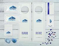 Ski mountain logo,