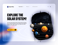 NASA Space Place - revamp concept