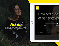 Nikon — Lens Comparator
