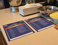 2016 AFC Papa's Kitchen Masterclass Recipe Sheet