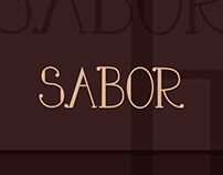 Tipografia Sabor // Sabor Type