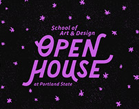 PSU School of Art+Design Open House