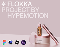 HM002: Flokka [Figma/C4D/Octane/AE Project Files]