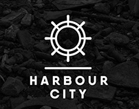 Harbour City logo design