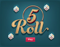 Casual game. 5Roll