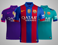 F.C. Barcelona 2016/2017 Rumores (Concept Kit)