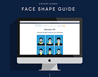Face Shape Guide - Responsive Web Layout