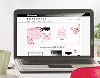 Butterfly Branding, Packaging and Website