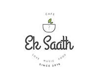 Cafe Ek Saath/ Brand Identity